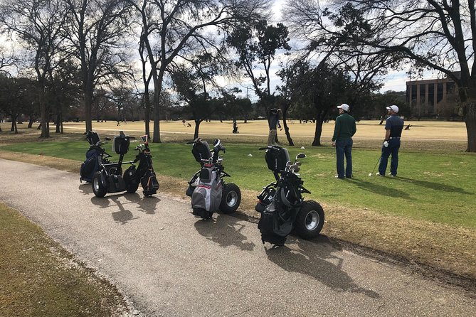 Golfing on a Segway in Austin
