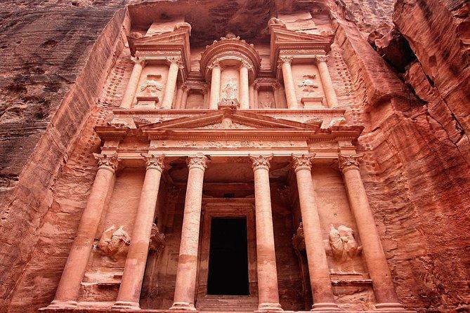 Petra - Wadi RumTour desde el Mar Muerto o Amman
