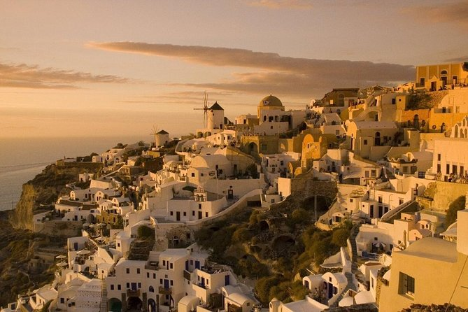 Full Day Boat Tour with Sunset in Oia
