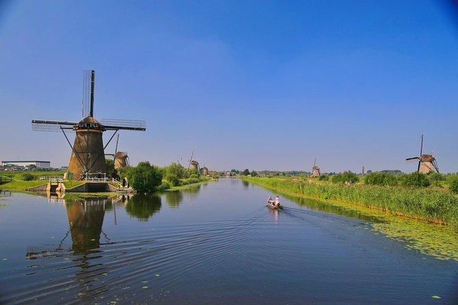 Kinderdijk windmolens privétour in privéauto met privégids Holland