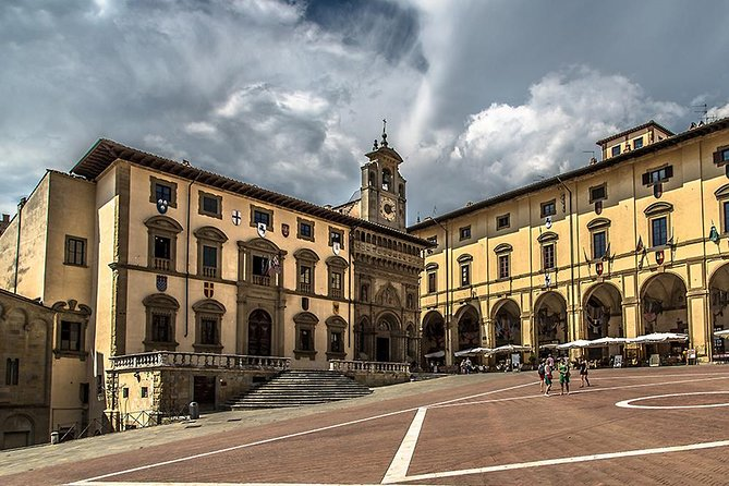 Private AREZZO and CORTONA Tour by Van from Florence