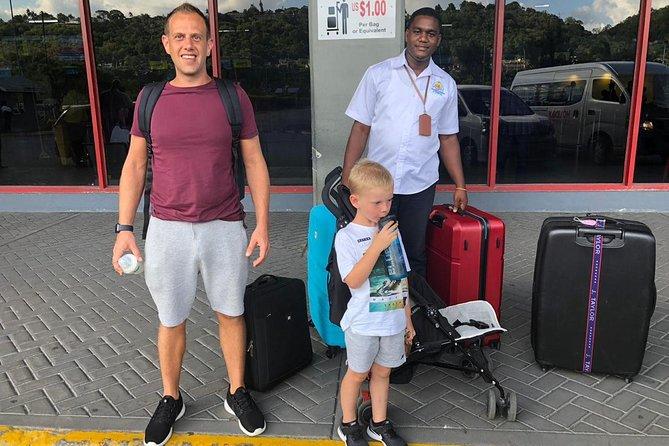 Transferts aéroport aller-retour de Montego Bay à Negril