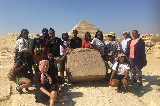A private day tour of Saqqara,Memphis & Dahshour ( All Inclusive )