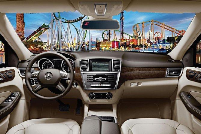 Barcelona Private Transfer from Barcelona Airport to PortAventura hotels