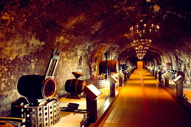 Champagne Day Tour with Reims, Cellars Visit & Champagne Tasting from Paris