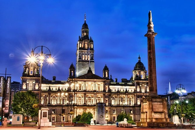 Glasgow by Yourself from GLA Airport or Greenock Cruise Port by Private Vehicle