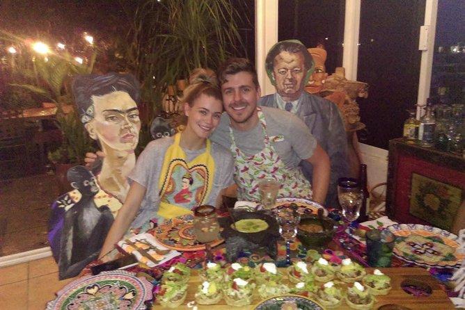 Chefs Ruben and Nathalie's Magical Mexican Salsa Class at Art VallARTa