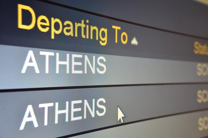 Athens airport to City Center arrival transfer