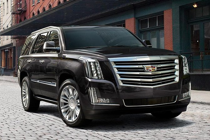 Chicago Airport Transfer: Midway Airport MDW to O'Hare Airport ORD in Luxury SUV