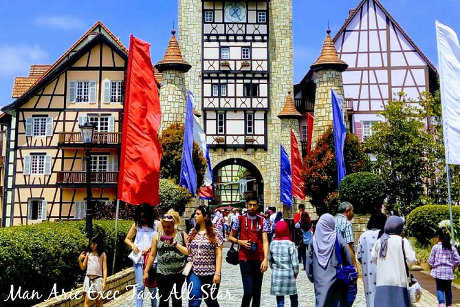 Colmar Tropicale, Bukit Tinggi with a Batu Caves Day Tour