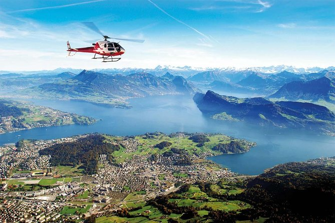 30 Minutes scenic Rigi & Pilatus helicopter flight from Lucerne