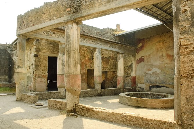 Pompeii and Naples with guide all day and tickets included