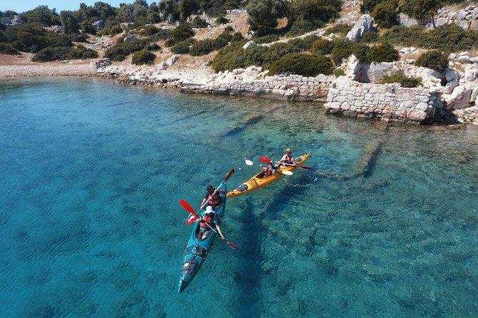 Sea Kayaking Over the Sunken City of Kekova Sound, Turkey