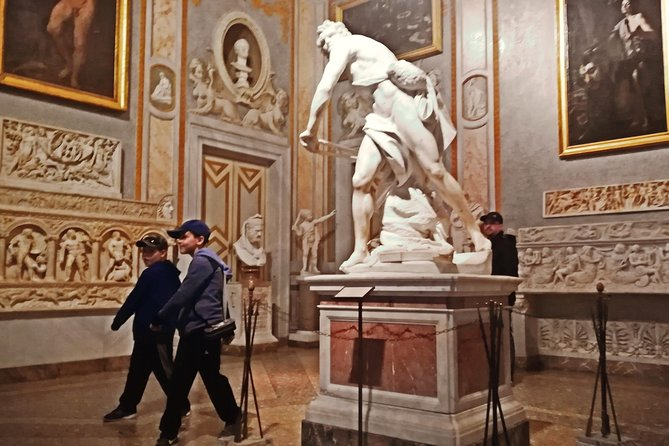 Art & Mythology in the Borghese Gallery Tour for Kids & Families with Alessandra