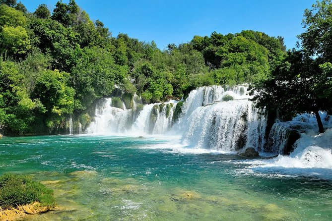 Half day trip to Krka Waterfalls & Skradin from Šibenik