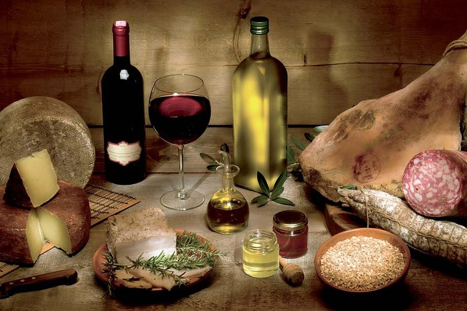 Private food tour Tuscany&Umbria regions day trip from Rome