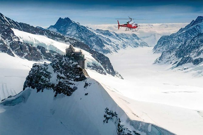 Jungfraujoch 20 Min. scenic flight from Interlaken