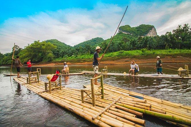 Bamboo Rafting at Klong Saeng River - Khao Sok Lake
