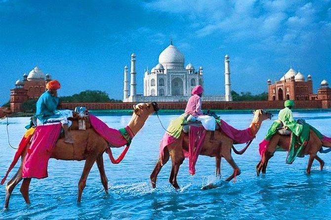 Taj Mahal, Agra Fort & Sikandra Tomb with Guide & Transportation