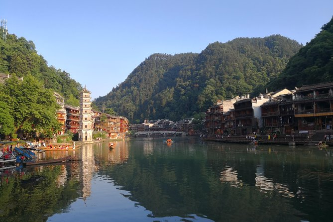Fast Train Changsha to Fenghuang for Traditional Stilted Houses and Ancient Town