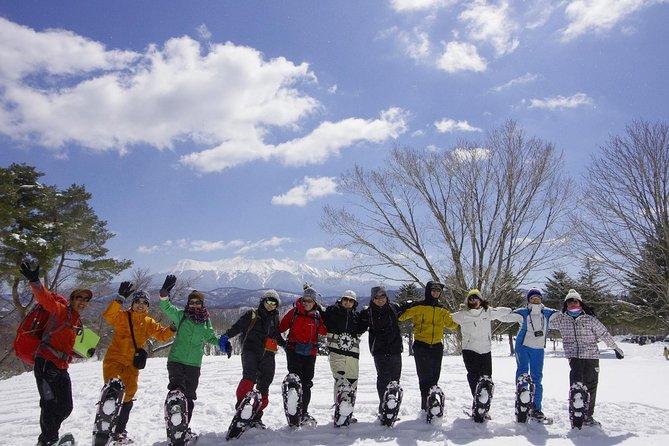 Snowshoe hiking