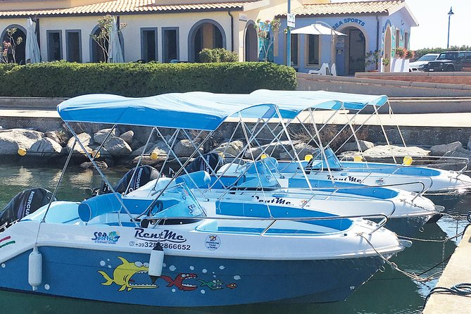 Rent new 2021 boat for 1/2 day. Exciting experience to explore the Tropea coast
