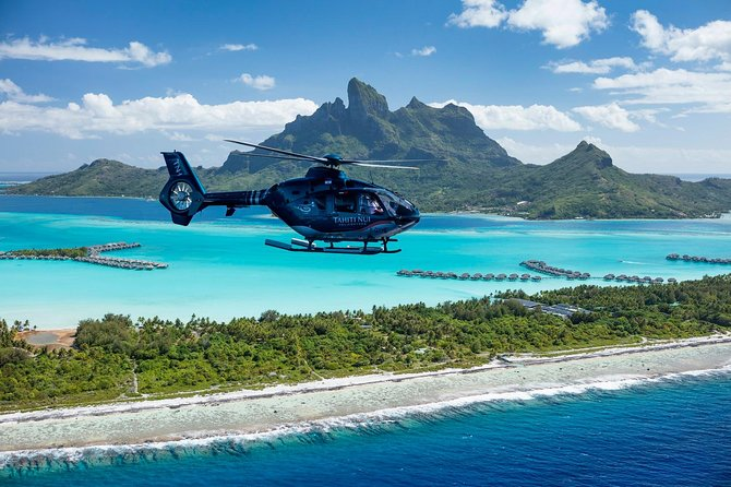 Pacific Pearl Tour (private flight)