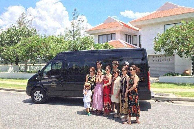Private Van 16 Seats Charter-Da Nang Full Day