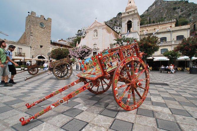 Taormina and Etna individual tour from Syracuse, Ragusa; Catania, Noto
