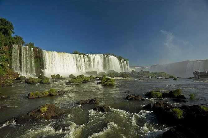 Brazilian Falls with Macuco Safari by Boat