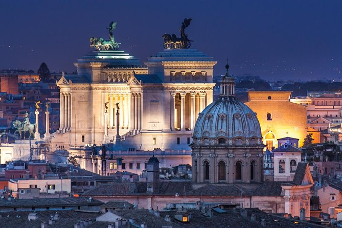 Rome by Night 2-Hour chauffeured Private Tour