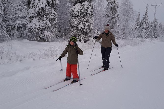Cross-country skiing at Pyhä-Luosto