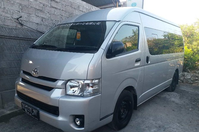 The True Freedom Trip in Bali with Toyota Hiace