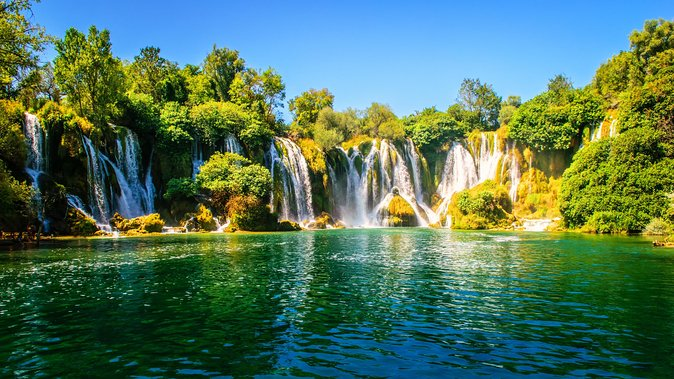 From Makarska: Kravice Waterfalls