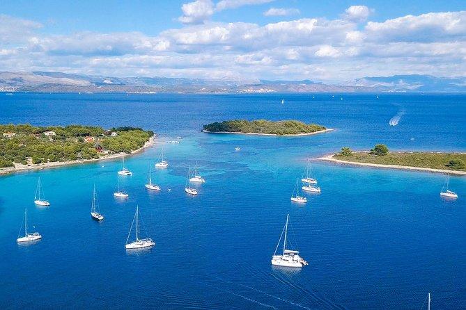 Blue Lagoon, Hvar & Trogir full day island hopping tour