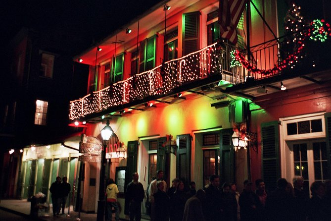 New Orleans Christmas.New Orleans French Quarter Seasonal Christmas Tour 2019