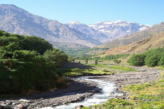 Private Day Trip to Ourika Waterfalls and Atlas Mountains