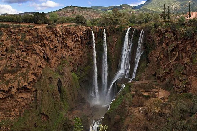 Private day to Ouzoud waterfalls and atlas mountains from Marrakech