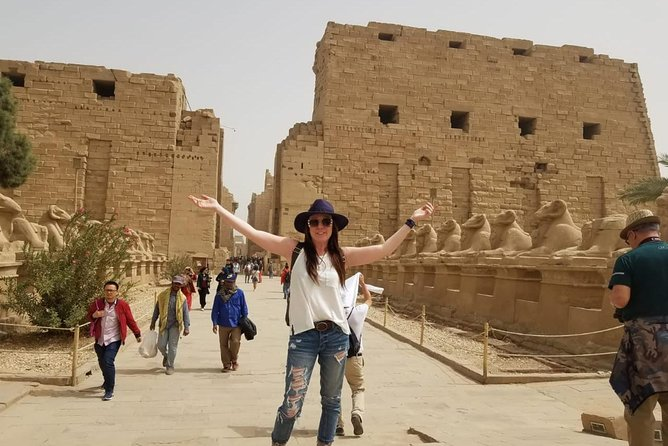 Luxor East and West Bank:Valley of the kings,Habu Temple,Karnak&Luxor Temples