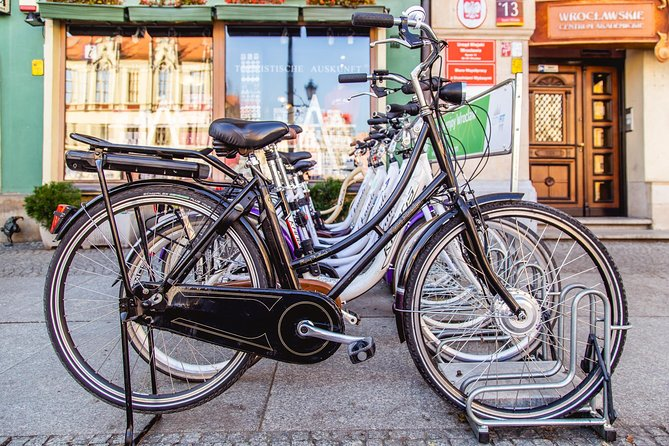 Wroclaw: 3-Hour Bike Tour in English or German