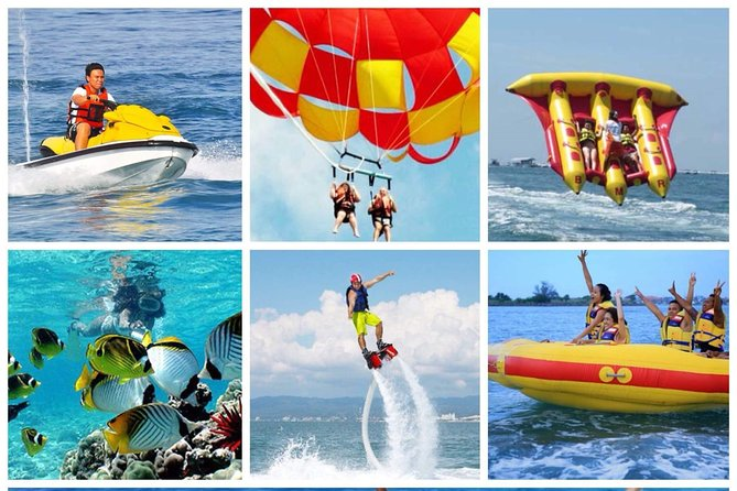 "Tanjung Benoa Beach Activity ""Ocean walker & parasailing adventure"""