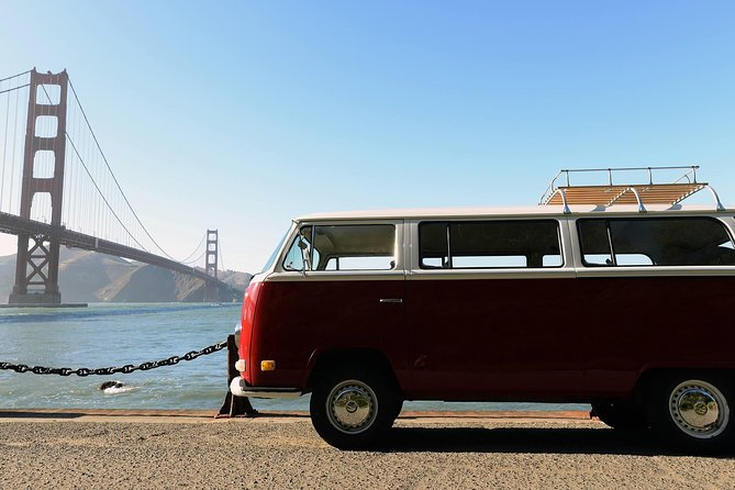 san francisco in a vintage vw bus city tour san francisco usa activities lonely planet san francisco in a vintage vw bus city