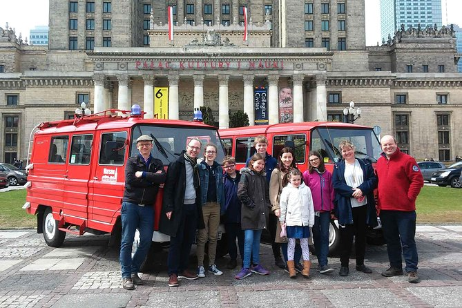 Best of Warsaw - private tour by retro minibus