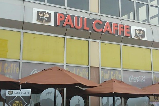 Meeting point at Nairobi airport Paul Caffe