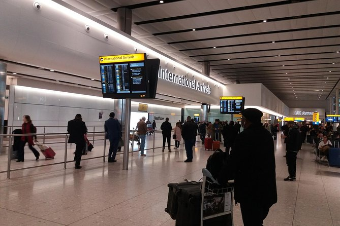 Lastminute London Heathrow airport arrival to Hotel/Accommodation
