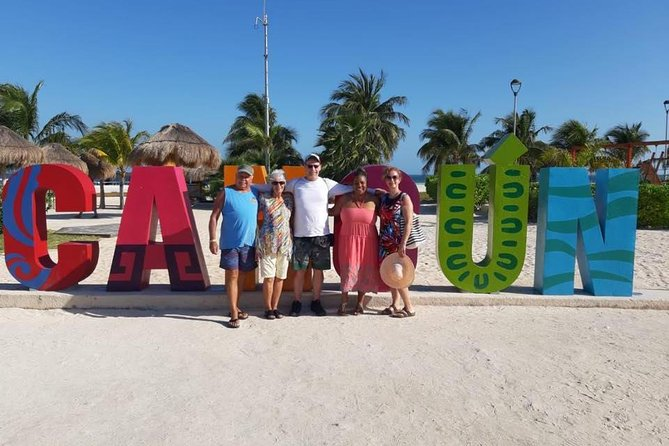 Cancun City, Puerto Morelos tour and Cenote experience