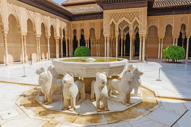 Alhambra & Nasrid Palace Small group (max 9 pax)