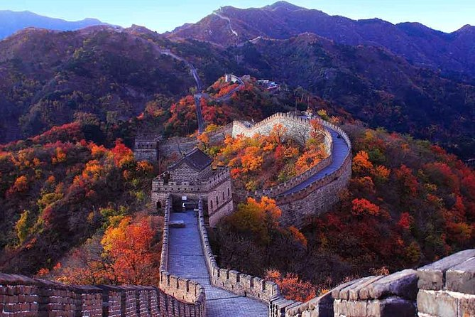 Mini Group Tour in Mutianyu Great Wall, Summer Palace and Olympic Stadium