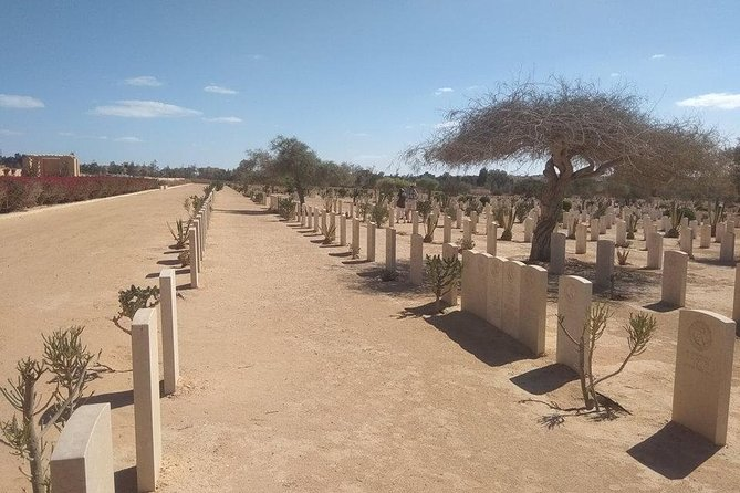 El Alamein Tour From Alexandria- Commonwealth-Italian-German cemeteries