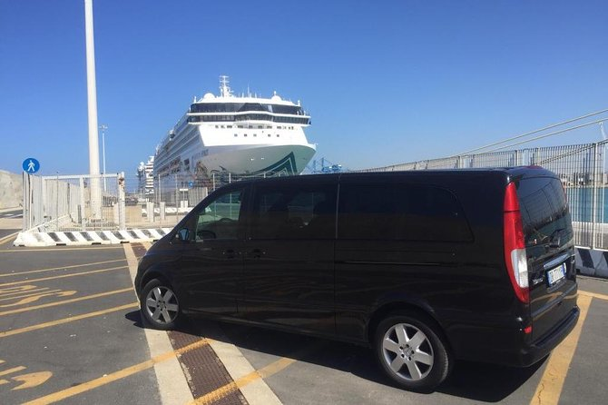 Shared Transfer From Rome to the Civitavecchia Port